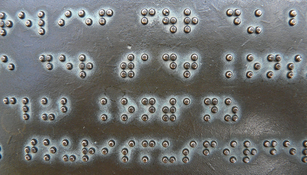 Barrierefreiheit - Accessibility - Braille
